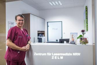 In Bochum hat Dr. med. Klaus Hoffmann ein Forschungszentrum für den nichtinvasiven Fettabbaubereich eingerichtet. (Foto: Hoffmann)