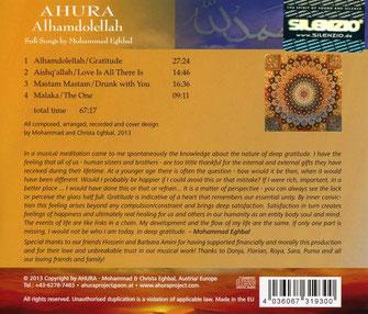 Ahura - Alhamdolellah CD