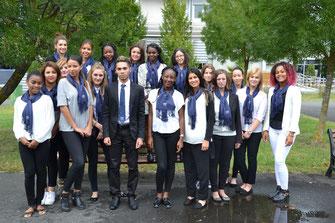 Les élèves du Lycée Tregey sont heureux de vous accueillir aux Boussoles 3
