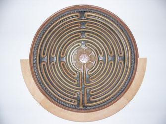 Das Leben ist oft ein Labyrith! (Aufnahme aus dem Benediktushof 2004)