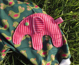 Elefantige Babyhose