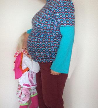 Schwangerschafts- und Stillshirt