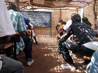 Acción Papalagi del Grupo Scout Chaminade - Antiguas aulas de chaminzo de Bantancountou, Senegal