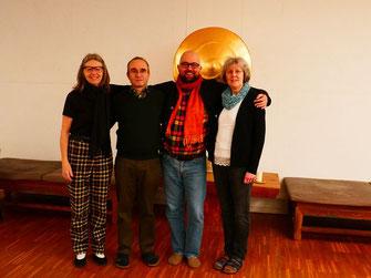 Von links: Elke, Wolfgang, Jens und Irene