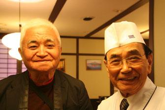 宮西 豊さん(右) MTさん(左)