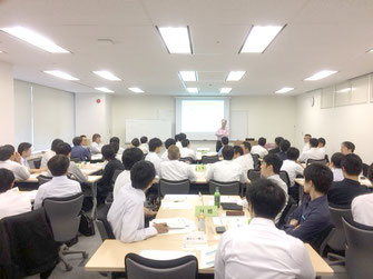 写真2:松田龍太郎の講義風景2