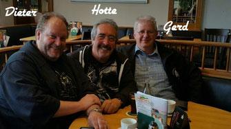 Bild Dieter, Hotte und Gerd