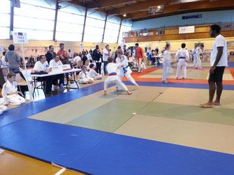 Club : Ecole de judo Réolaise présente à la compétition de BASSENS le 02/11/14
