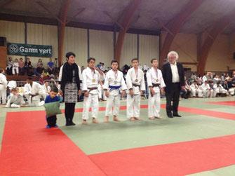 Ecole de judo réolaise CHAUVIGNY 2014