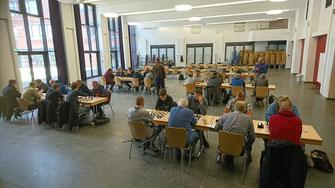 Das Teilnehmerfeld des JHGT im Forum Mellendorf