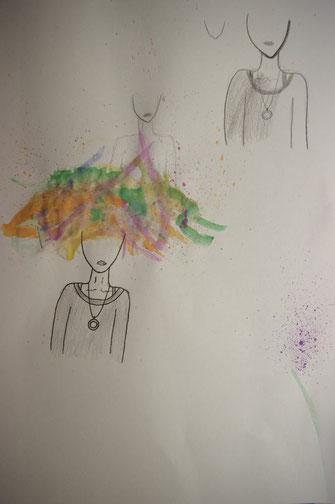 Erste Versuche für das Over Thinking Bild