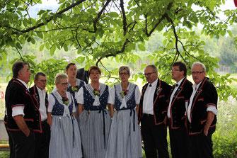 Auftritt im APH Hofmatt Münchenstein am 1. August 2017