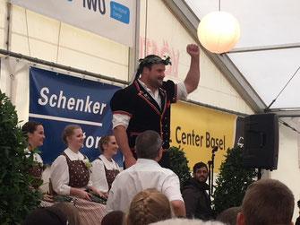 Thomas Sempach, Festsieger des 99. Baselstädtischen Schwingfest 2018