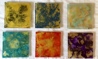 encaustic#abstract
