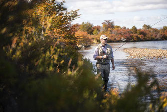 Fly fish Central Patagonia, Argentina, FFTC.club destination, El Encuentro Fly Fishing, Fly fish freshwater destinations. Wild and Trophy Trout, Brook trout at Rio Corcovado