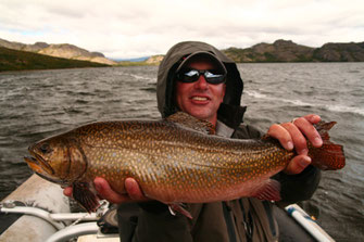 Fly fish Central Patagonia, Argentina, FFTC.club destination, El Encuentro Fly Fishing partnered Las Pampas Lodge, Fly fish freshwater destinations. Wild and Trophy Trout, Brook trout