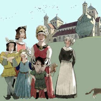 Die Familie Lautensack, aus dem Hildesheimer Stadtmuseum