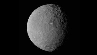 Kleinplanet Ceres | Raumsonde Dawn | Foto: NASA