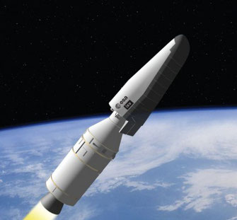 Testflug des IXV | Grafik: ESA
