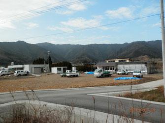 東九州道、蒲江IC付近の様子。