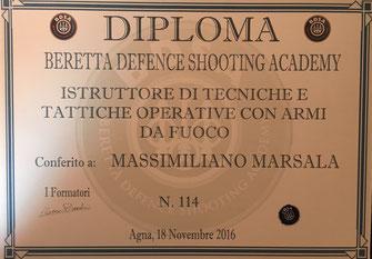 Istruttore basa tecniche tattiche operative massimiliano marsala