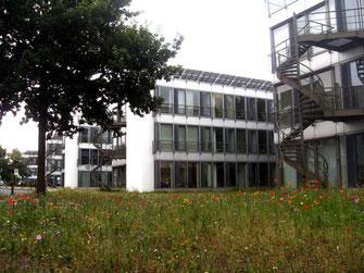 Der  Wissenschaftspark  in  Gelsenkirchen  beherbergt  das  Institut für  Stadtgeschichte