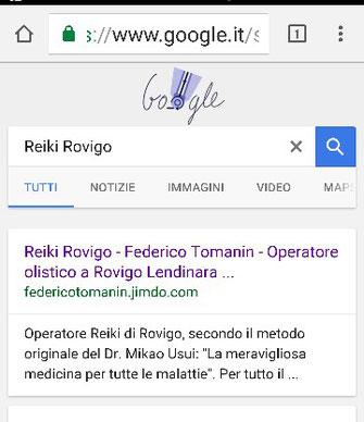 Al primo posto su Google