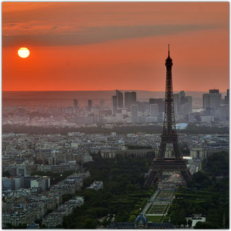 paris sunset sunrise