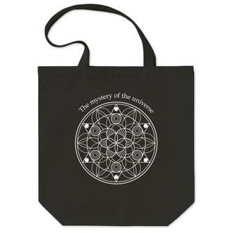曼荼羅(まんだら)アートトートバッグデザイン作成買い物袋マンダラA4入る