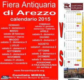 Prima domenica del mese - Fiera Antiquaria - Arezzo