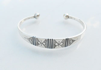Bracelet touareg traditionnel