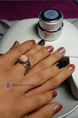 brisa cnd hard gel overlay nails at home st albans hypoallergetic