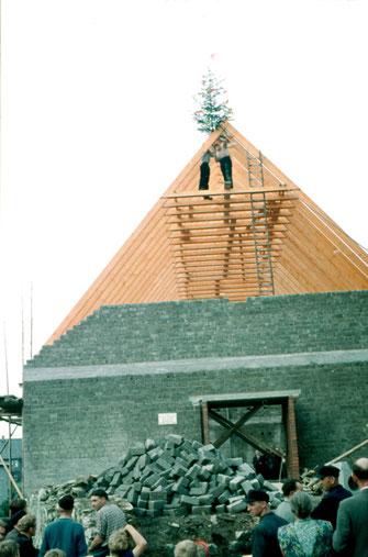 Richtfest Kirche