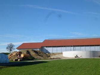 Gülle Biogasanlage Foto Solarstrom Simon