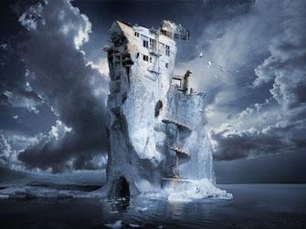 氷河期が遠のいても気候変動で都市が寒冷化するかも・・・ CC-BY-SA-3.0 by George Grie