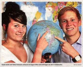 Missionare auf Zeit - RN-Foto Glöckner vom 07.07.11