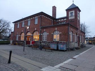 Bild: Bahnhof von Humlebeak