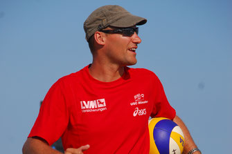 Beachvolleyball-Trainer