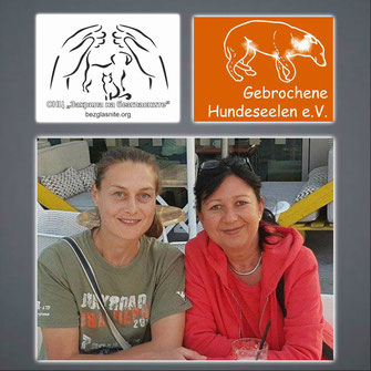 Kremena Radeva & Tina Schmitt; Protection for the Voiceless & Gebrochene Hundeseelen e.V.