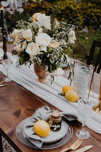 Goldenes Besteck mieten leihen Hochzeit