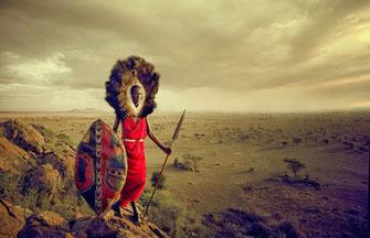 Guerriero Masai.