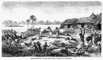 La strage delle donne Manyuema a Nyangwe.