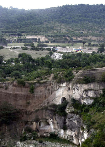 Sito archeologico di Kariandusi- Cave di diatomite