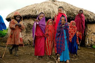 Villaggio Masai, Kenya.