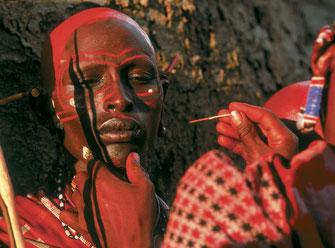 Masai, modificazioni dei lobi delle orecchie.