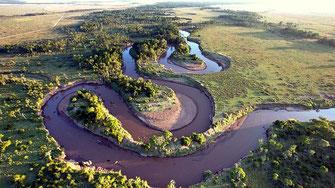 Mara river. Kenya