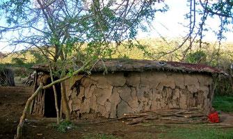 Abitazione masai.