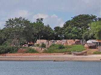 Malindi Mosque sull'isola di Kilwa Kisiwani, in Tanzania.