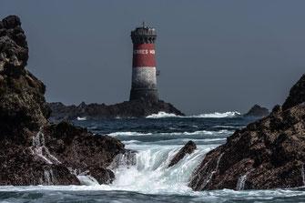 phare des pierres noires en mer d iroise