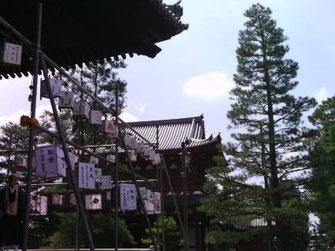 妙心寺のお盆の風景